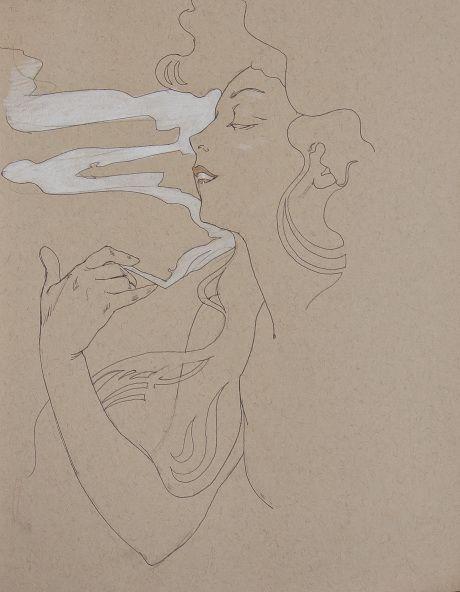 ❤ - Alphonse Mucha | Sketches.
