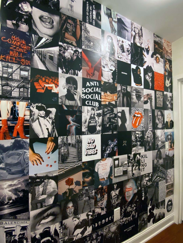 Photo Collage Kit Dorm Room Decor In 2020 Dorm Room Decor Photo Walls Bedroom Bedroom Wall Collage
