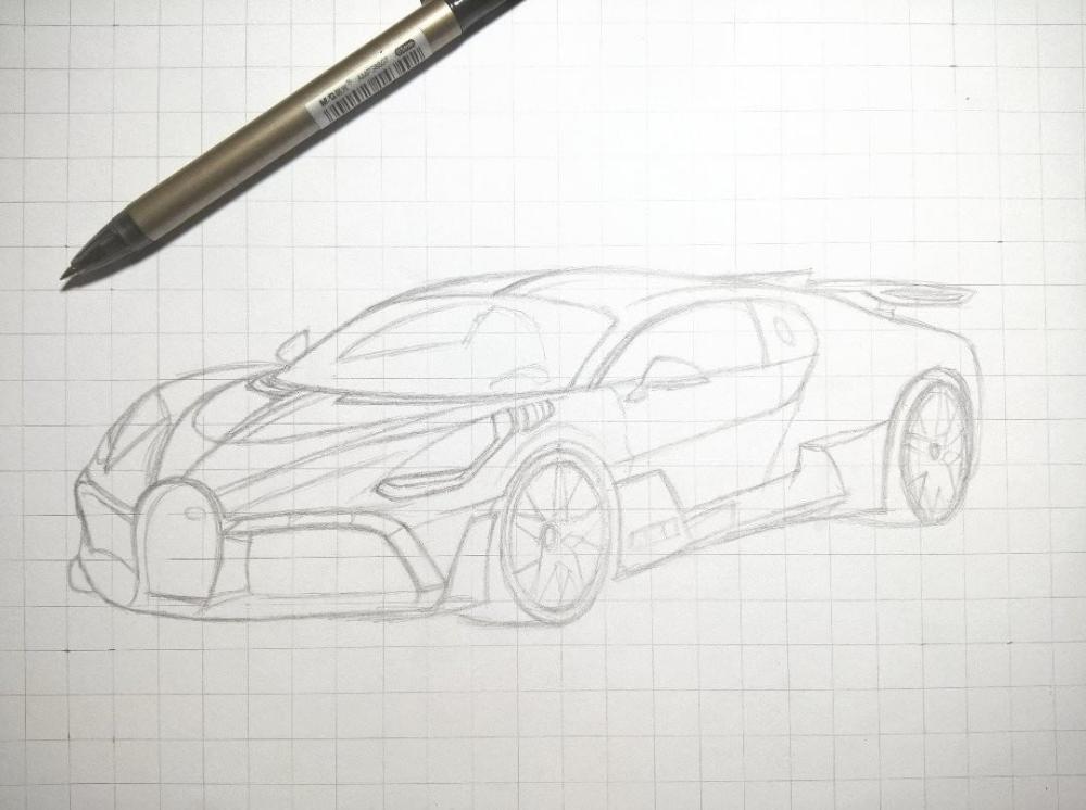 Bugatti Divo Drawing Google Search Drawings Bugatti