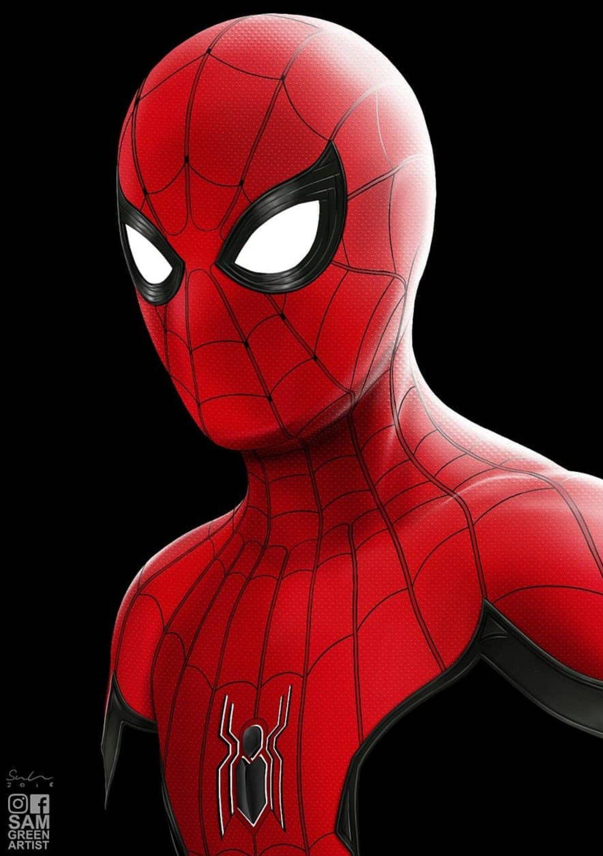 Far From Home, SpiderMan Spiderman, Marvel wallpaper