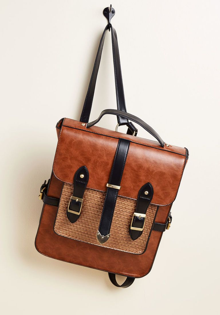 84dfcfc0ca4 Authentically Academic Backpack in Chestnut | Modcloth Wishlist ...