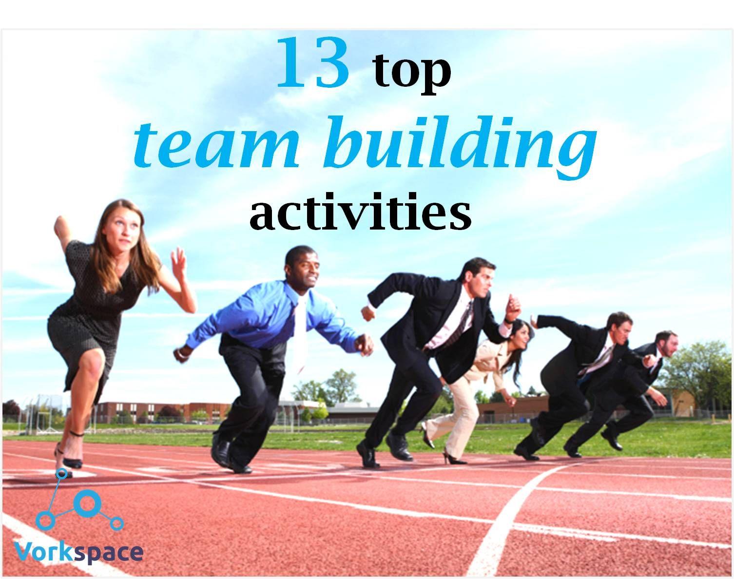 13 top team building activities! Team building