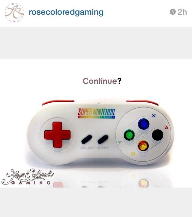 fb3878821df Custom SNES controller by Rose Colored Gaming Video Game Collection