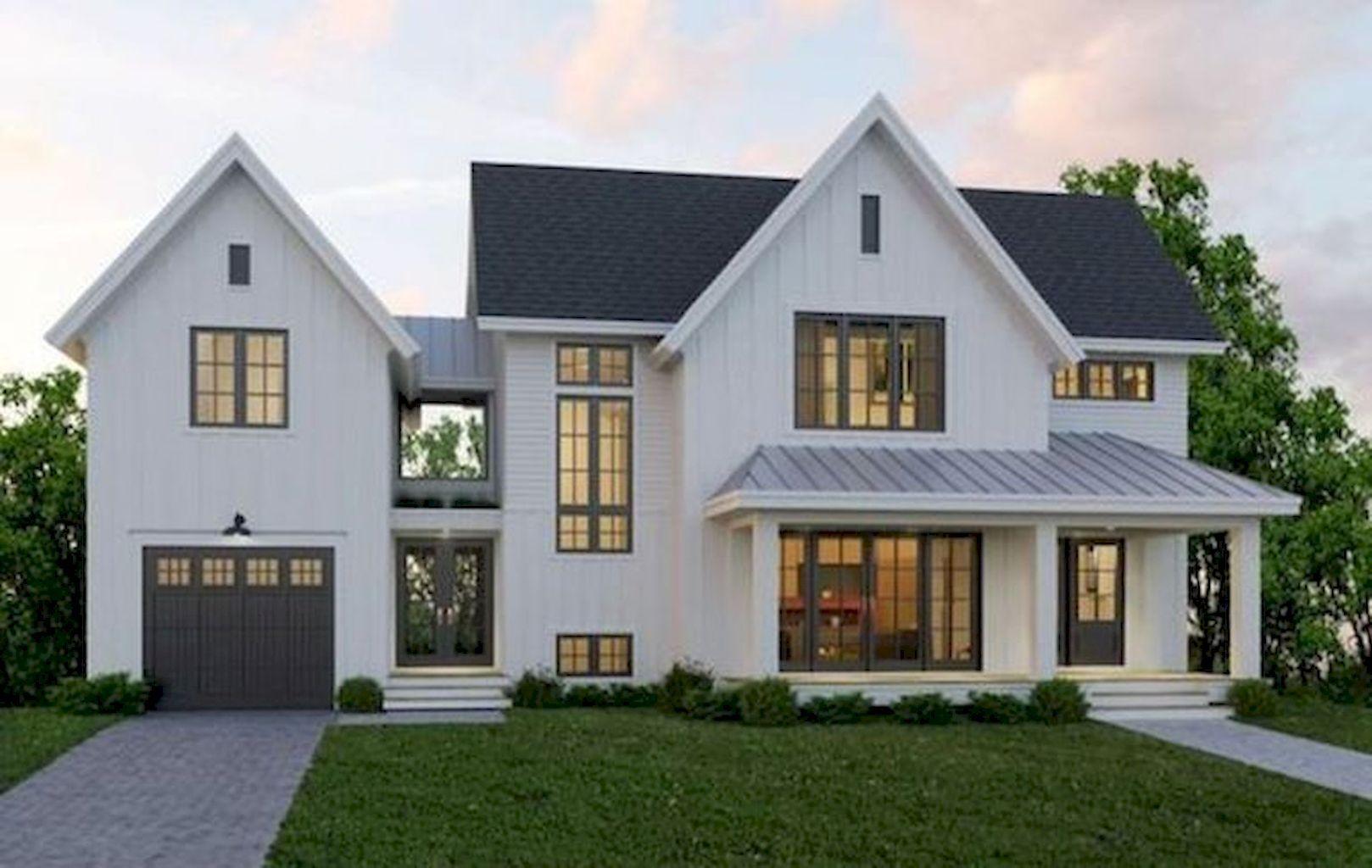 70 Awesome Modern Farmhouse Exterior Design Ideas - Insidexterior