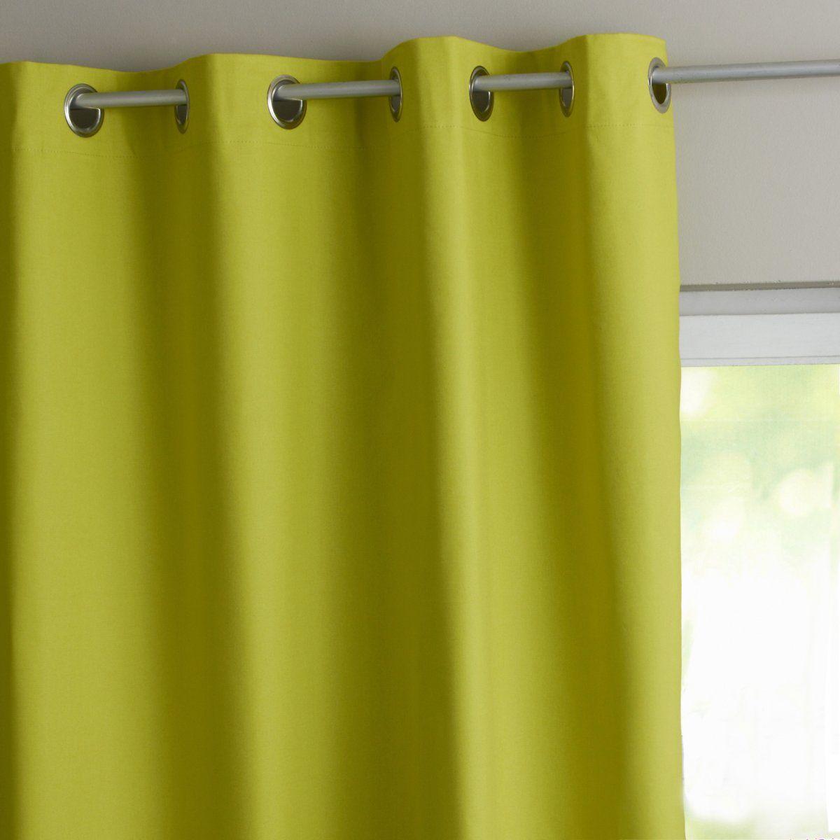 les rideaux vert anis rideau vert