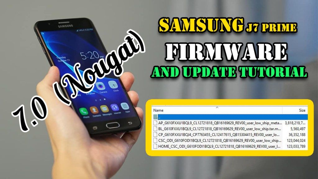 Download Samsung J7 Prime SM-G610f Samsung SM-G610f 4 File: Latest