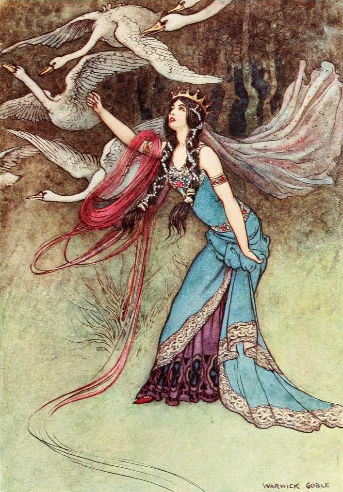 Warwick Goble - Illustrator