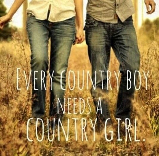 country girls and boys