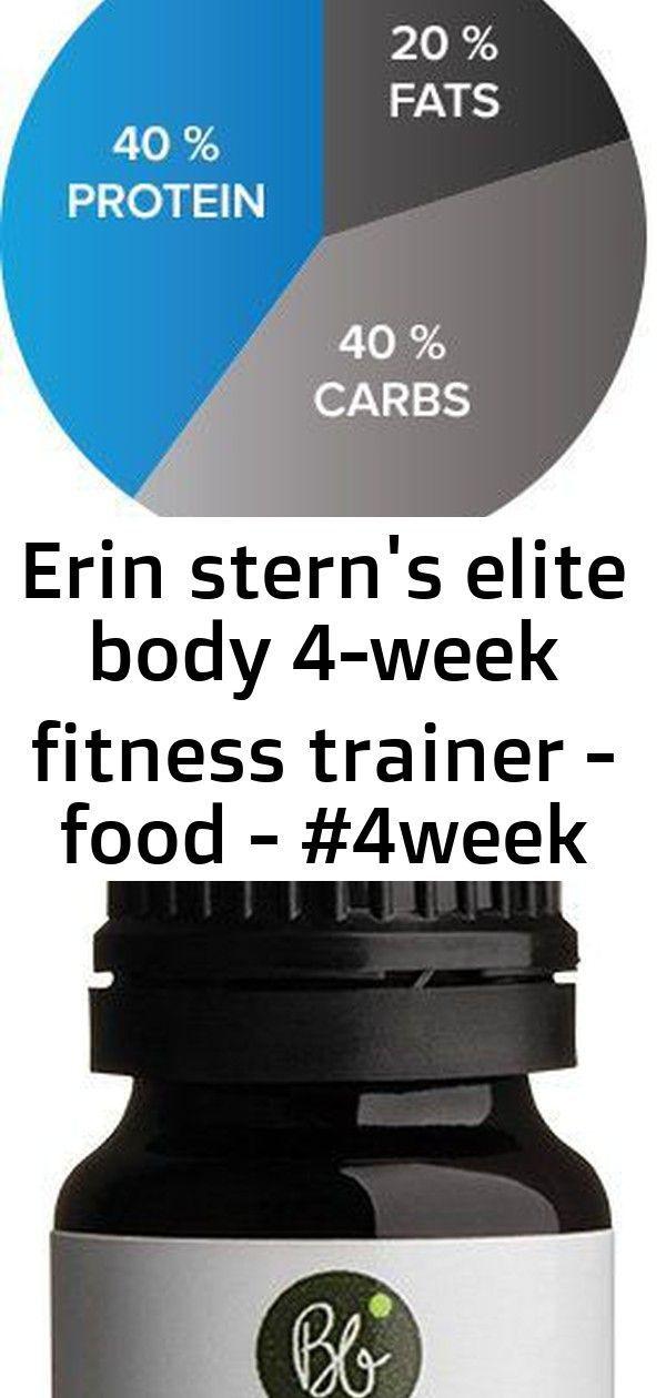 #4Week #Body #Elite #Erin #Fitness #Food #protein shake to gain muscle bodybuilding #sterns #Trainer...