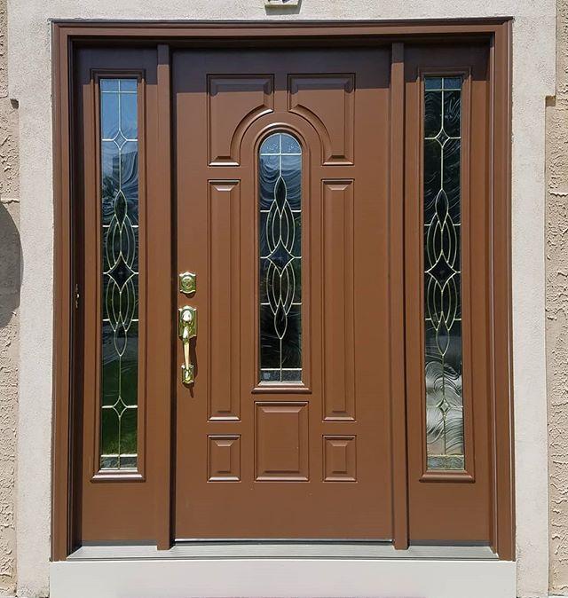 Prefinished Door, Existing Stucco Exterior 😎