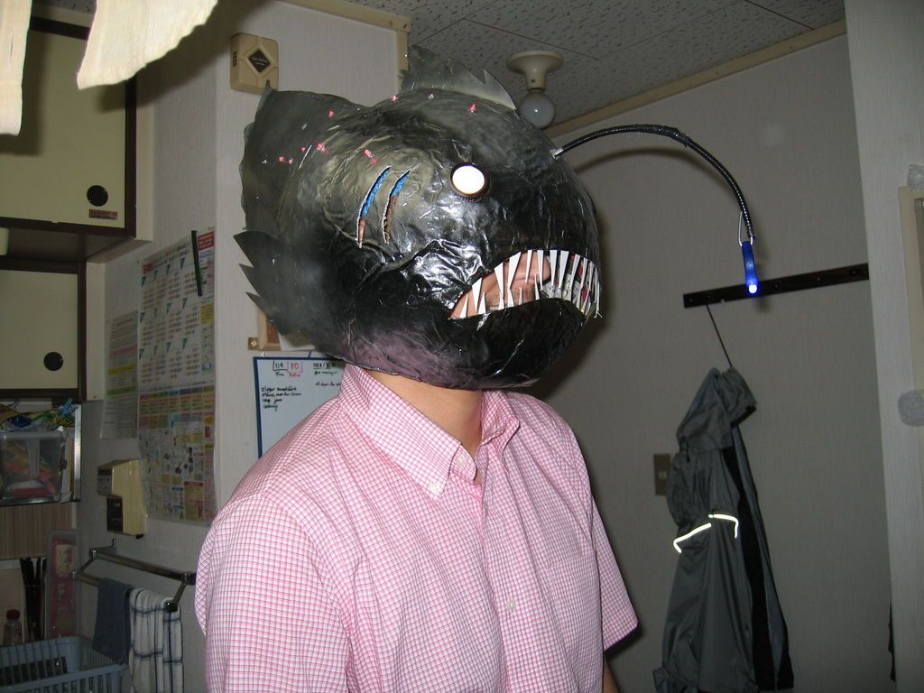 How to Make an Anglerfish Mask | Masking, Costumes and Halloween ideas