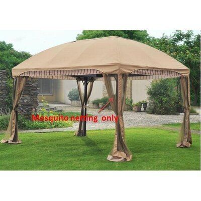 Sunjoy Screen for Curve Gazebo If you are on the market for a hard top gazebo, then please check out our guide featuring several Gazebos. We consider to be the absolute best hard top gazebos available today, including models from Sojag, Sunjoy, Kozard, and many more! #gazebos #homedecor #backyardentertaining #party #family #friends #neighbours #summerfun #hardtopgazebo #amazon