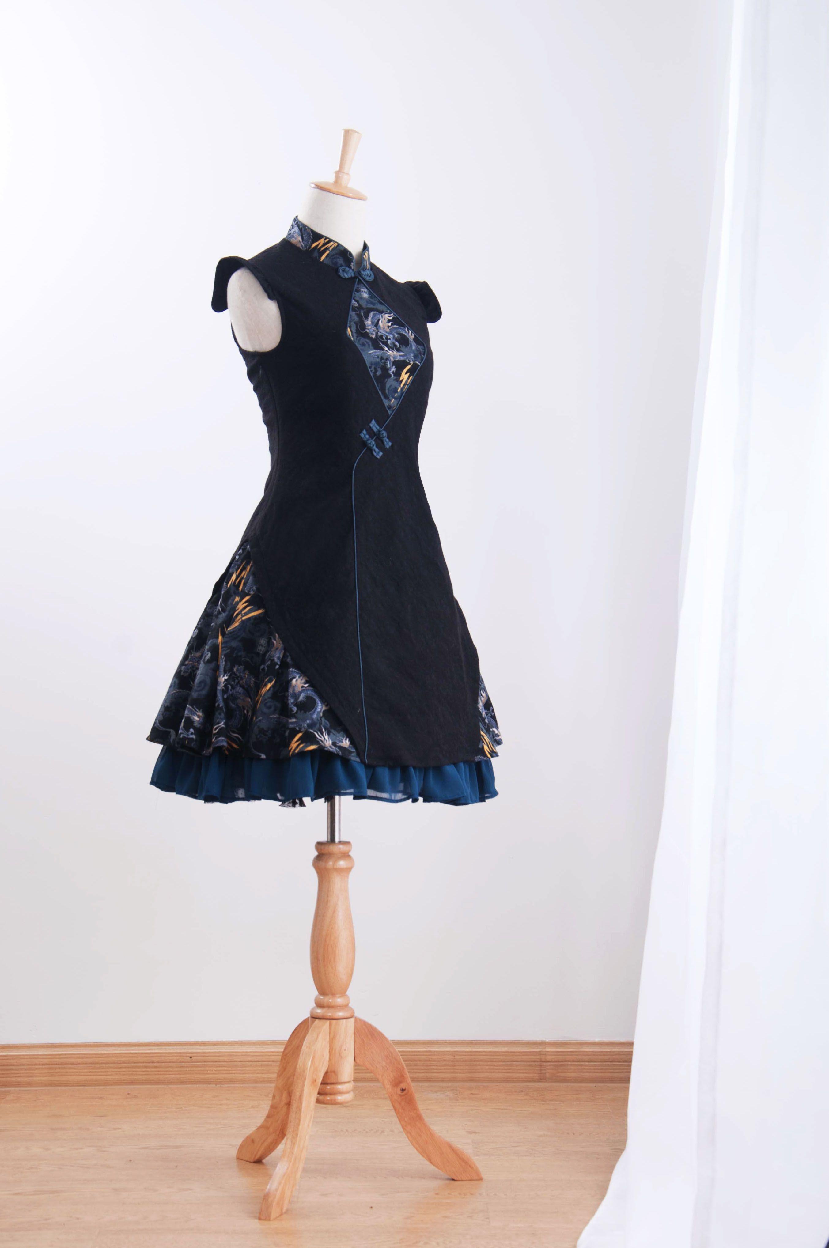 君聆_中華風lolita 中國風連衣裙-引龍調-尾款頁面