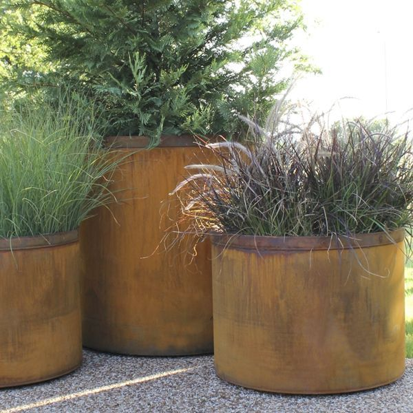 Large Planters For Outdoors Outdoor And Three Rh Pinterest Com Uk Extra