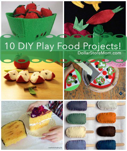 10 Play Food Projects For Your