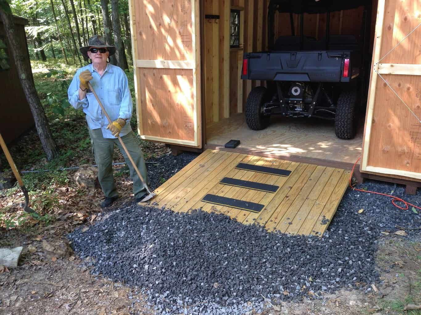 How to Build a Ramp for a Shed SawsHub in 2020 Shed