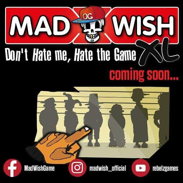 MADWISH XL, the new and extended version of the game that makes you embarrass yourself and reveal terrible secrets while you get drunk at the same time.  Follow our social media for more info...  #madwish #comingsoon #kickstarter #crowdfunding #party #drinking #game #truthordare