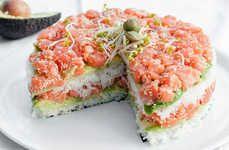 Japanese Dish Desserts  #Christmas #Sushi #Recipes