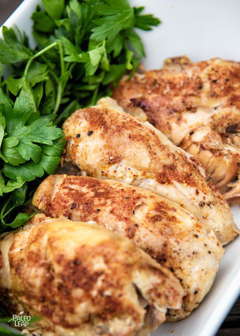 Simple Slow Cooker Chicken Recipe Food Recipes Paleo Chicken