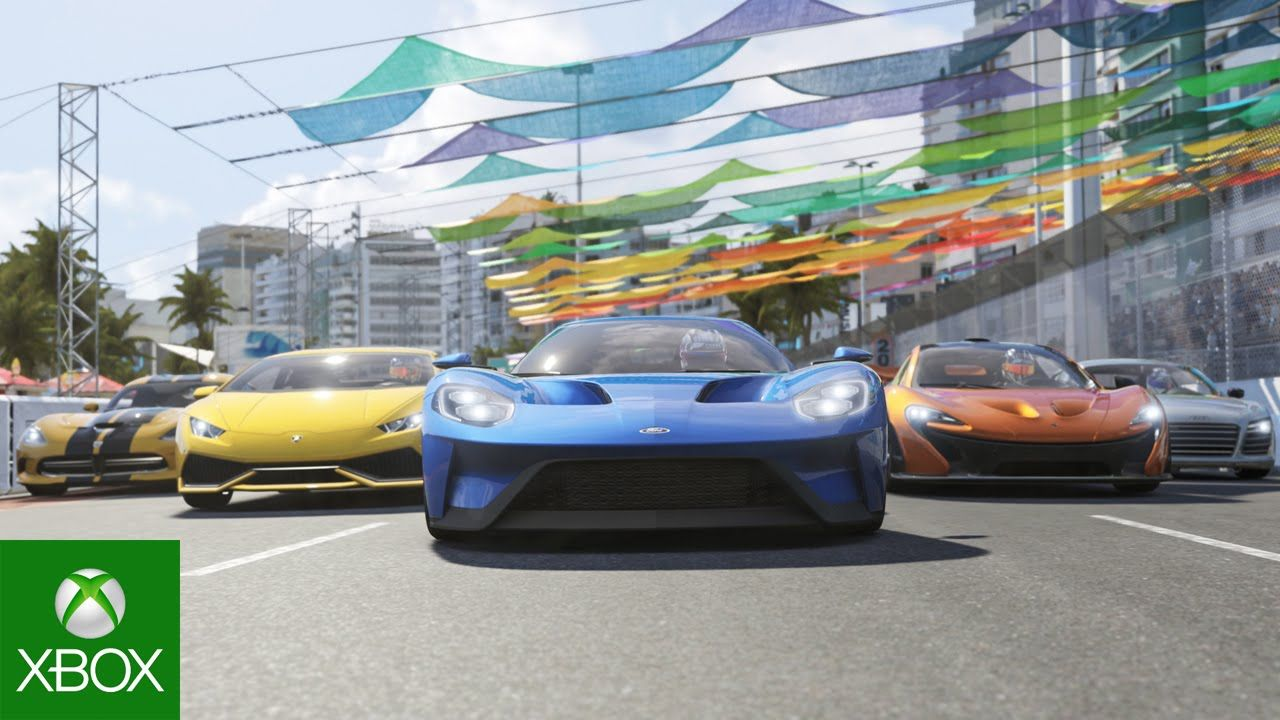forza motorsport 6 launch trailer places to visit. Black Bedroom Furniture Sets. Home Design Ideas