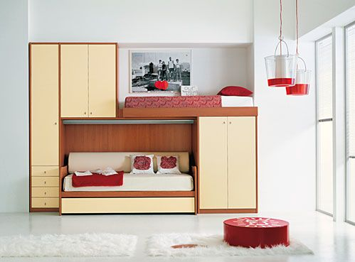 Cool Stockbetten Und Loft Schlafzimmer Für Teenager Von IMA   Kindermöbel