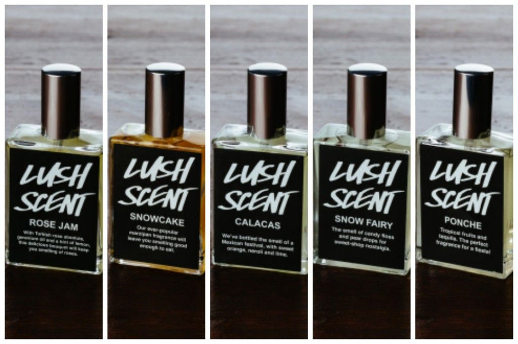 The five limited edition perfumes of 2013.... Rose Jam, Snowcake, Snow Fairy, Calacas and Ponche