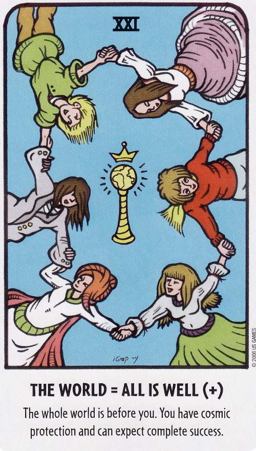 The World - Tell Me Tarot