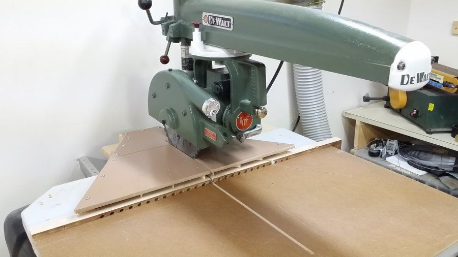 Radial Arm Saw Dust Collection By Mikhail Lumberjocks