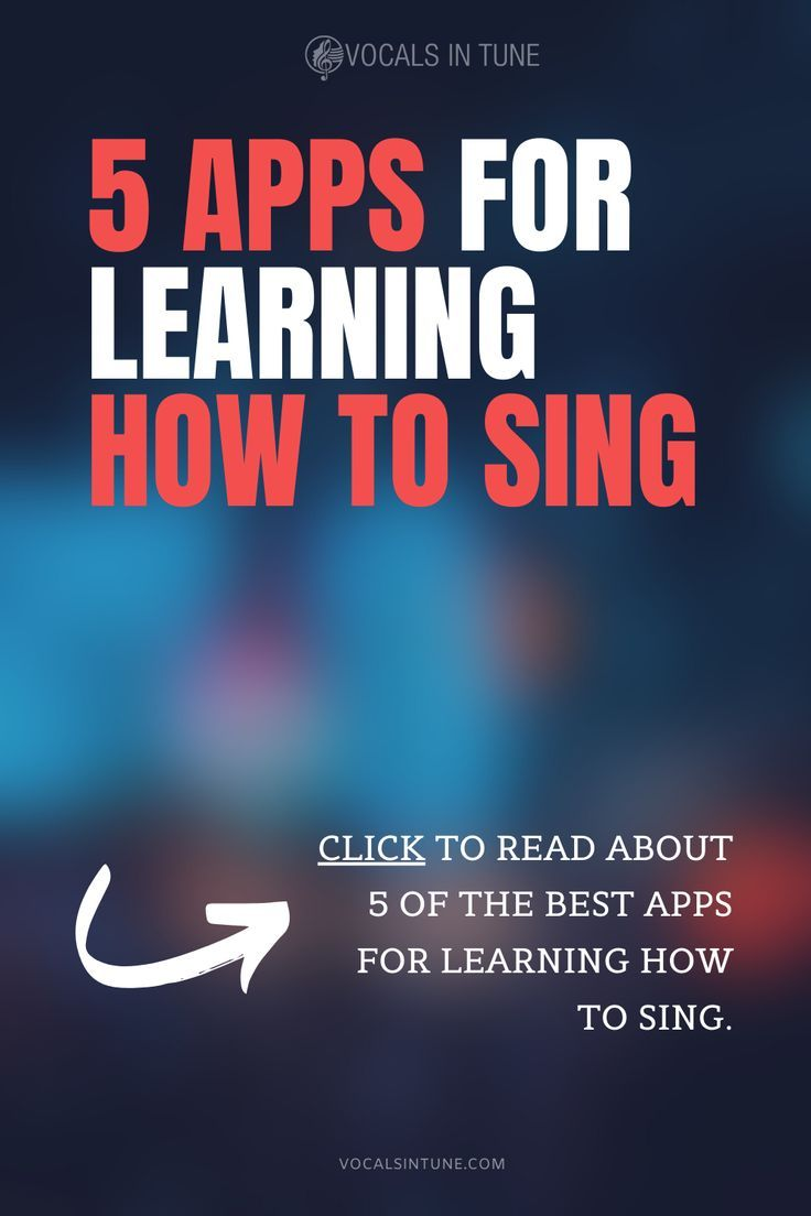 Apps to learn how to sing vocals in tune in 2020 learn