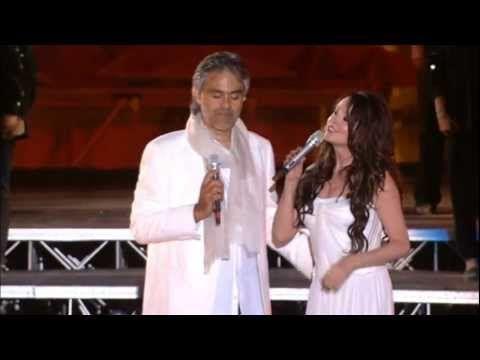 Andrea Bocelli Ft Sarah Brightman Canto Della Terra Pop Music