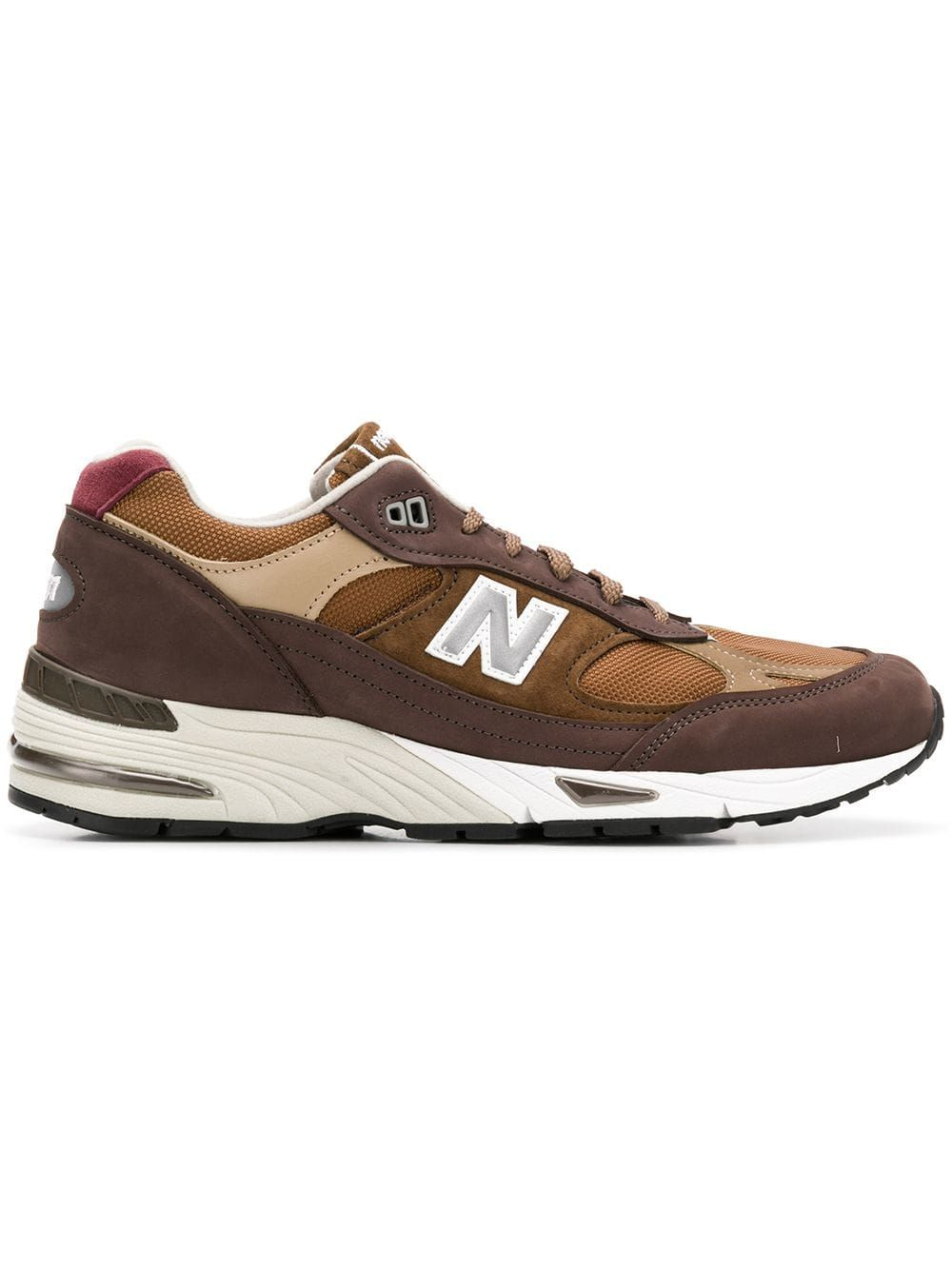new balance donna pelle marrone