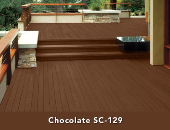 Behr Deckover In Chocolate Our Next Project Staining Deck