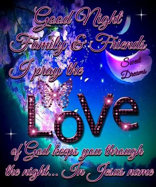 God Bless!!   Good night blessings, Good night prayer, Good night ...
