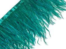 "KELLY 4-6/"" Feathers Trim//Craft//Costume//Halloween 2 Yards HACKLE FRINGE"