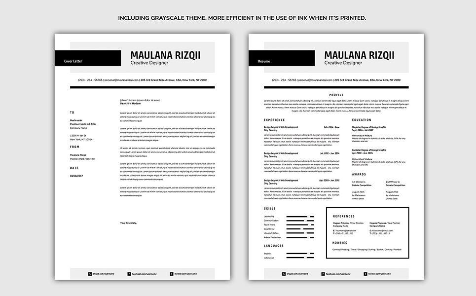 Modern resume template 70962 modern resume template