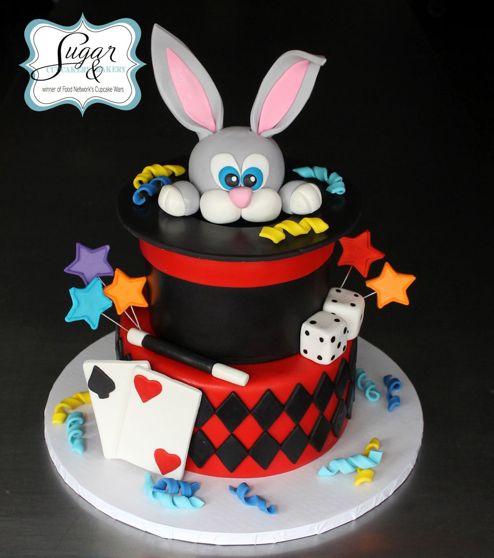 Brilliant Magician Cake With Images Magician Cake Magician Party Magic Funny Birthday Cards Online Kookostrdamsfinfo