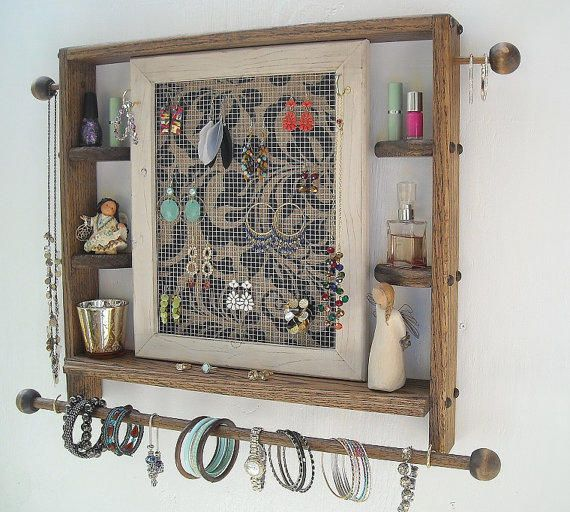 Best Rustic Jewelry Holder Products on Wanelo RhApsOdIcs Admired