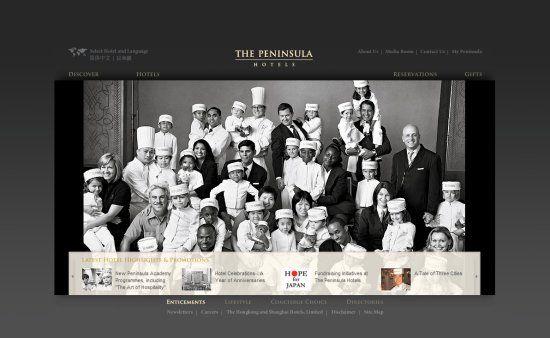 The Peninsula Hotels http://www.peninsula.com/Peninsula_Hotels/en/default.aspx