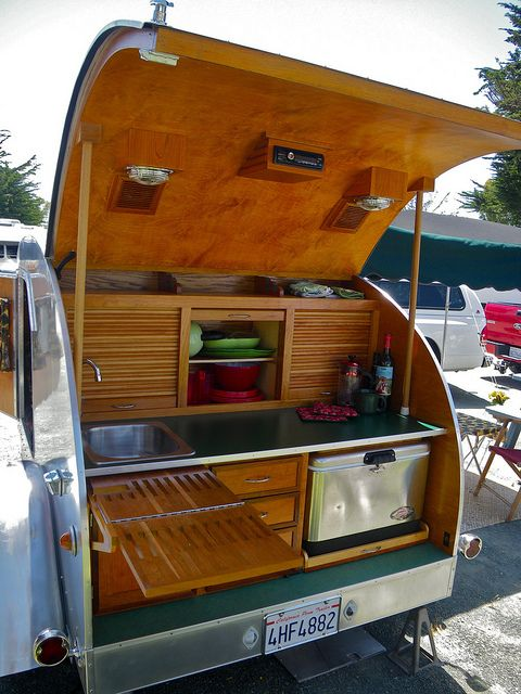 Back Of The Teardrop Vardos Roulottes Caravans And Tiny Homes