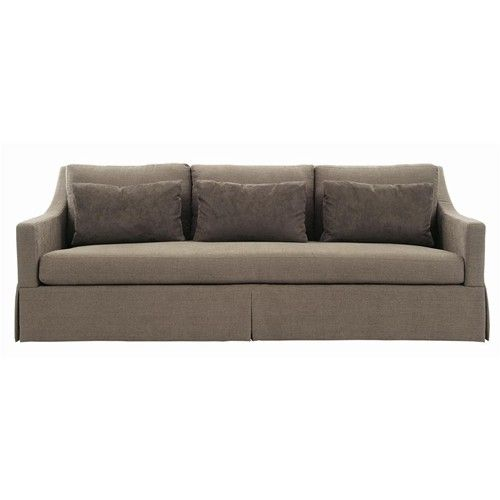 Modern Sofa Bernhardt Interiors Sofas Albion Sofa with Skirted Base Baer us Furniture Accent Sofas Miami