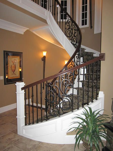 Best Handcrafted Luxury Spiral Staircases Wrought Iron 400 x 300