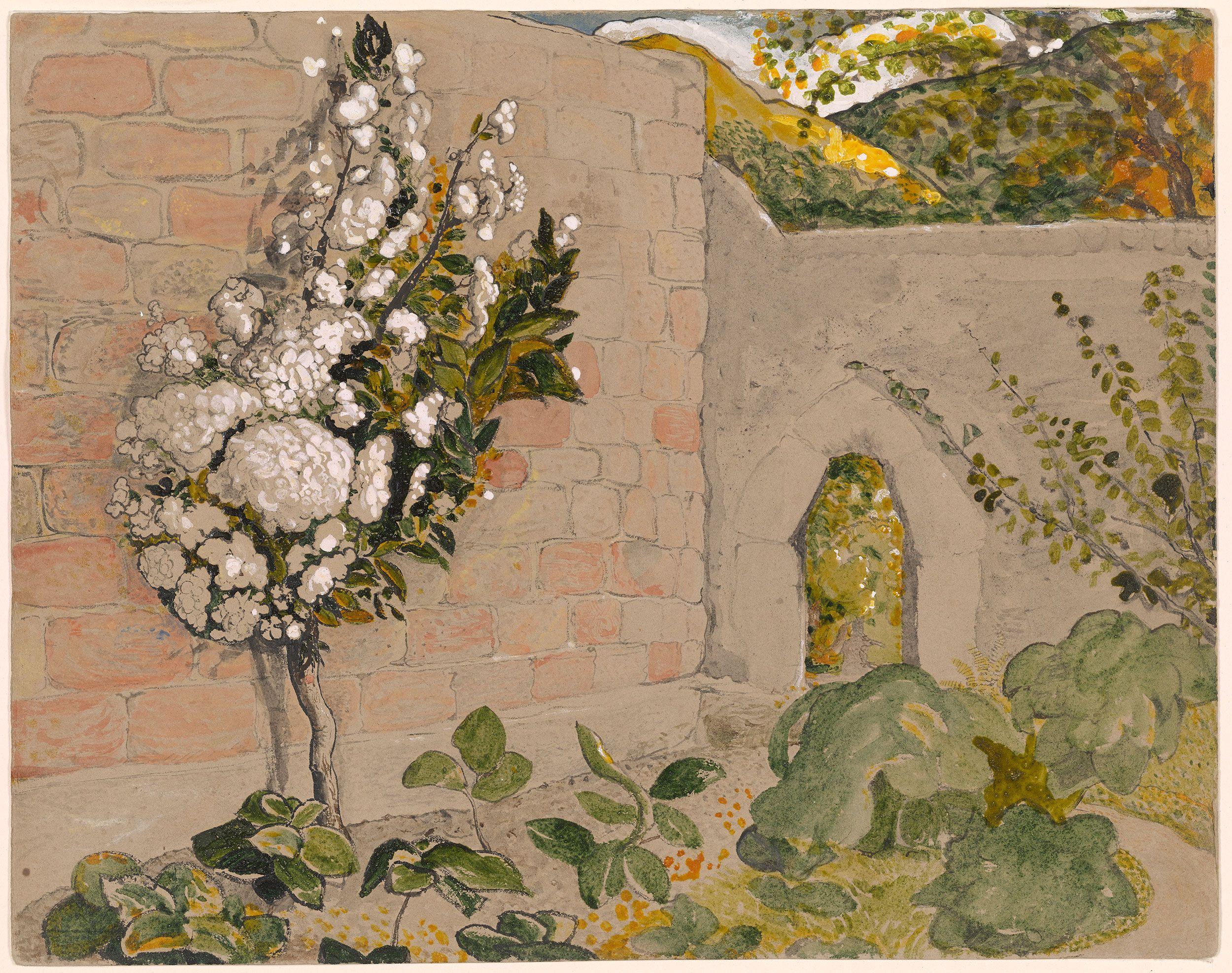 Samuel Palmer Pear Tree in a Walled Garden | Contemporary Art ...