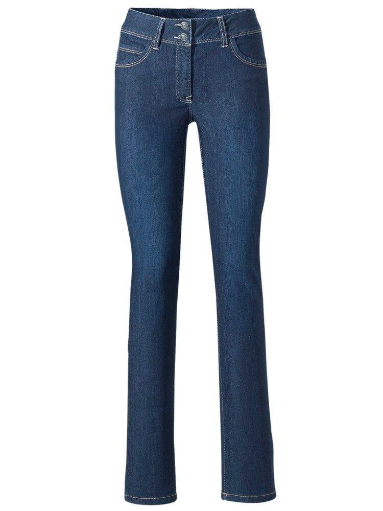 Heine Bodyform Jeans Damen, Blue Denim, Größe 4142   Jeans