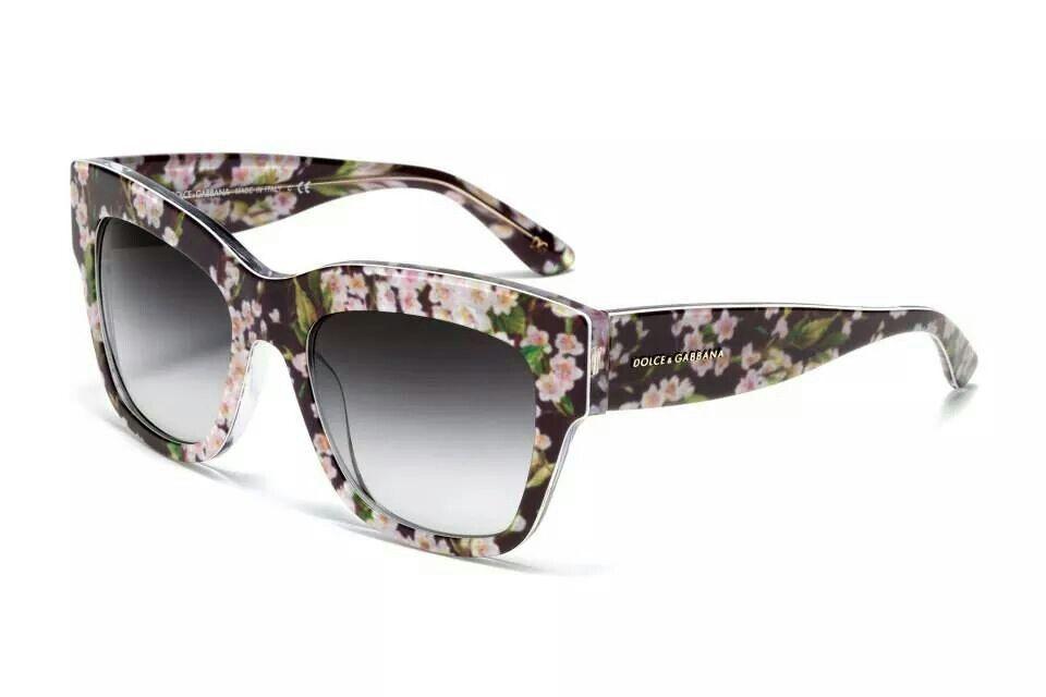 Dolce and Gabbana floral sunglasses | Gafas | Pinterest | Gafas
