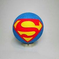 Lampu tidur benang Superman  Lampu meja  75K | Painted Rocks