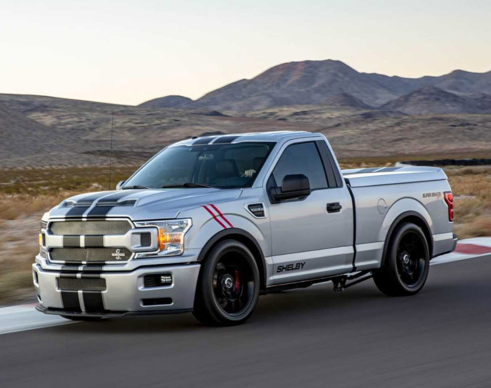 2020 Shelby F 150 Super Snake Sport Truck With 770hp Unveiled