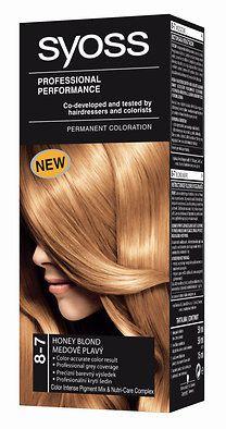 Syoss Color tartós hajfesték 8-7 mézszőke