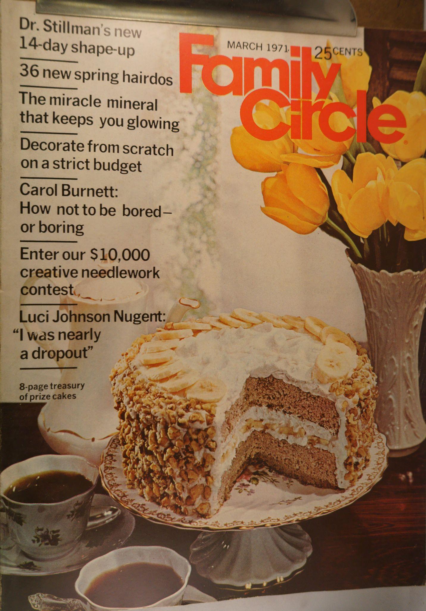 https://flic.kr/p/v4Hr3Y | Family Circle March 1971 | $6.00 each plus Shipping.