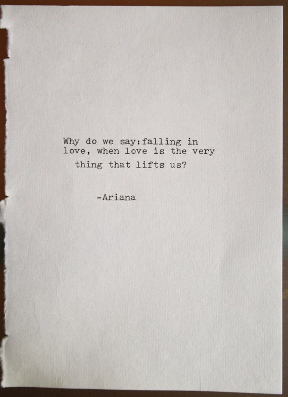 Original poetry love poem typography typographic art print wall art home decor typewritten note roma