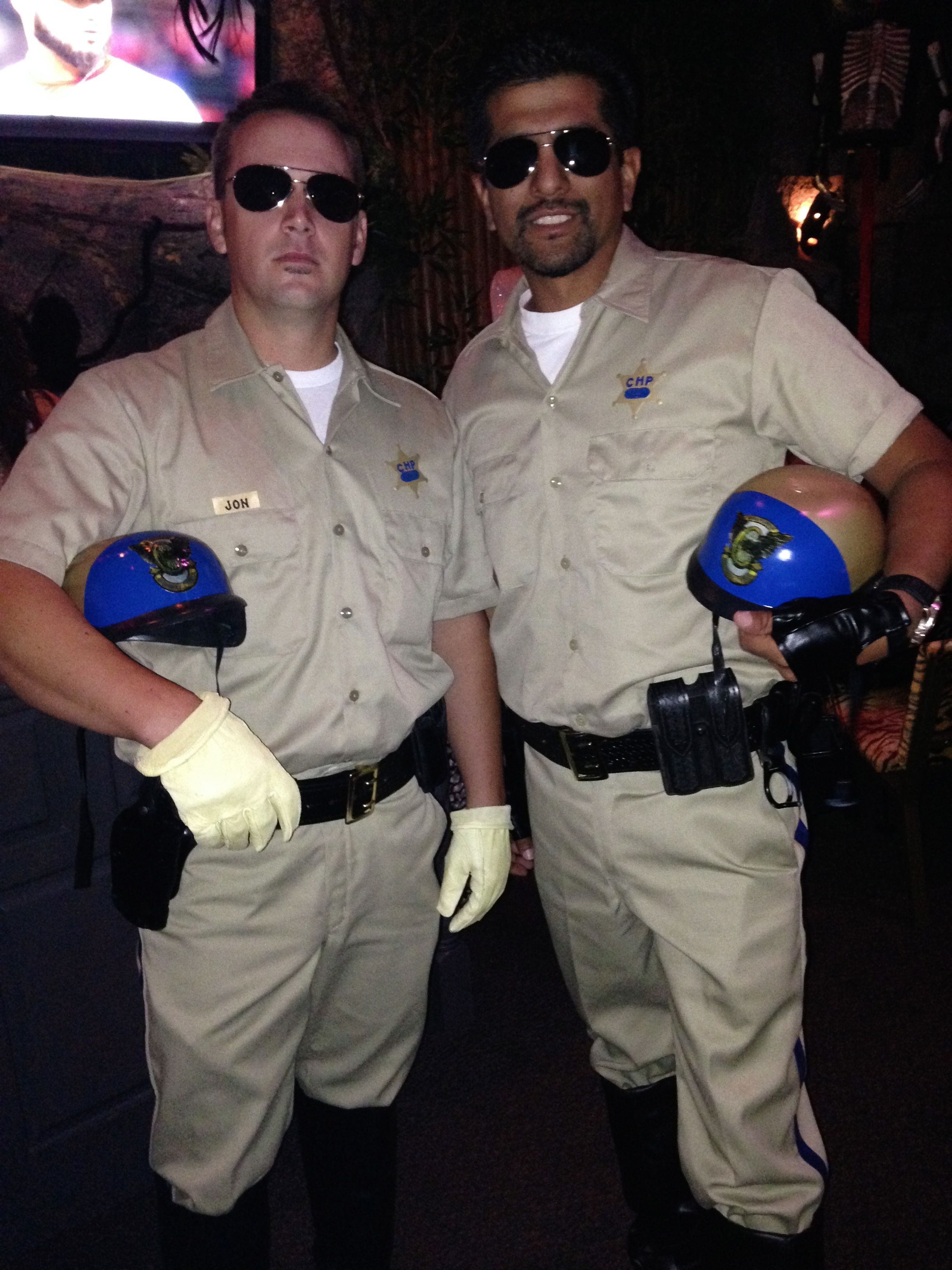 ChiPs costume, Ponch & John | family halloween costume ideas ...